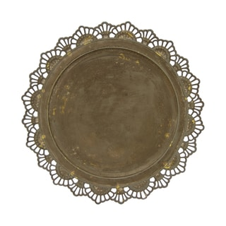 Three Hands Charger Plate-Metal