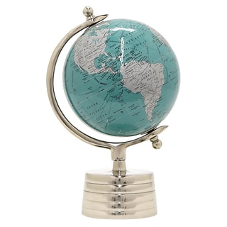 Three Hands Globe 6 Inches - Nickel