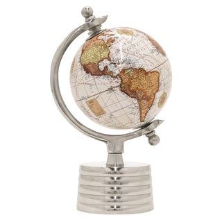 Three Hands Globe 5 Inches - Nickel