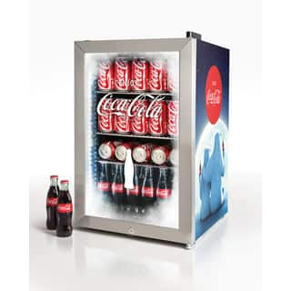 Nostalgia BC24COKE Coca-Cola 80-Can Limited Edition Commercial Beverage Cooler|https://ak1.ostkcdn.com/images/products/18147857/P24298312.jpg?impolicy=medium