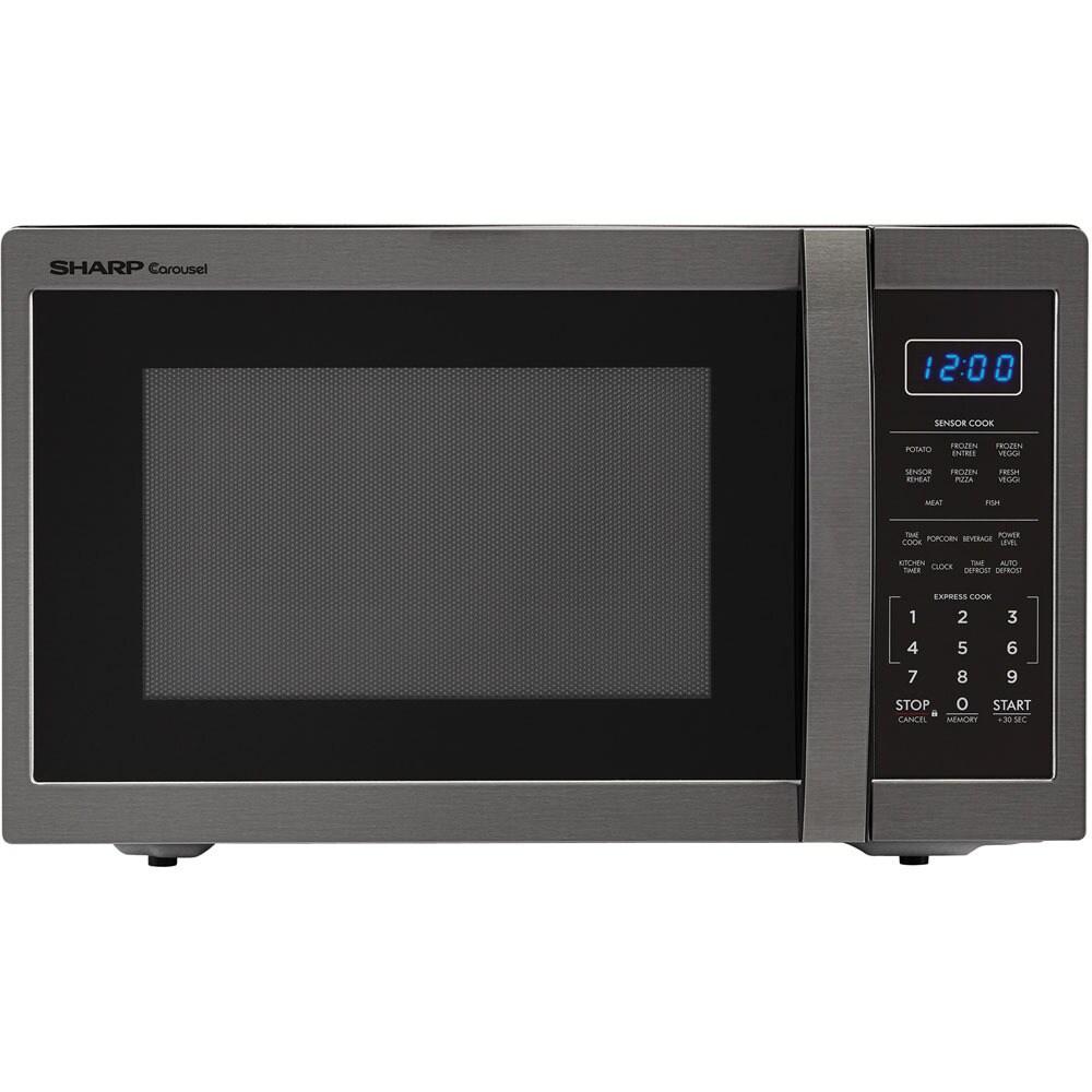 Sharp Carousel 1.4 Cu. Ft. 1100W Countertop Microwave Ove...