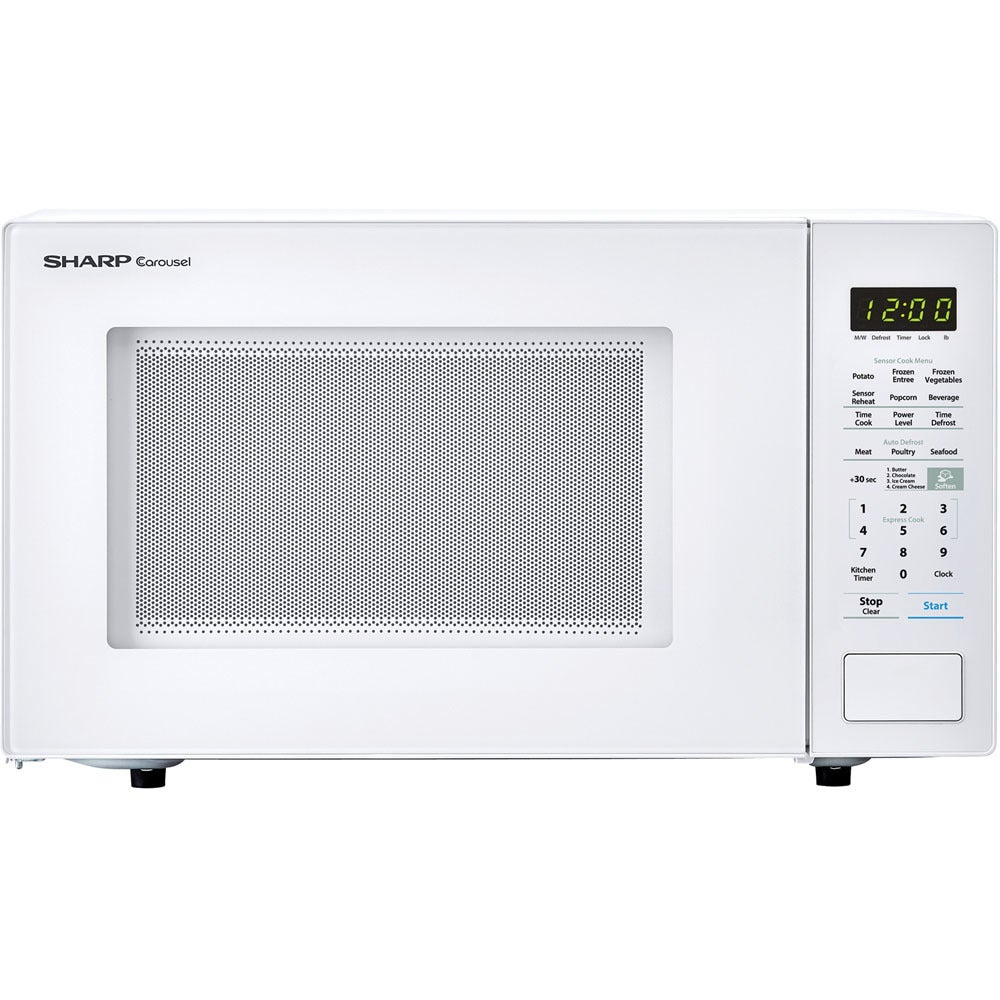 Sharp Carousel 1.4 Cu. Ft. 1000W Countertop Microwave Ove...