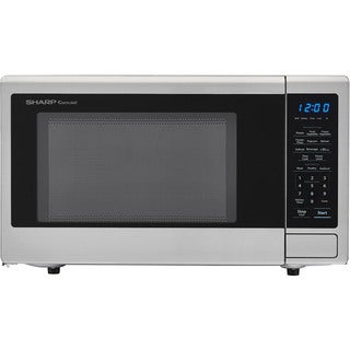 Sharp Carousel 1.1 Cu. Ft. 1000W Countertop Microwave Oven with Orville Redenbacher's Popcorn Preset