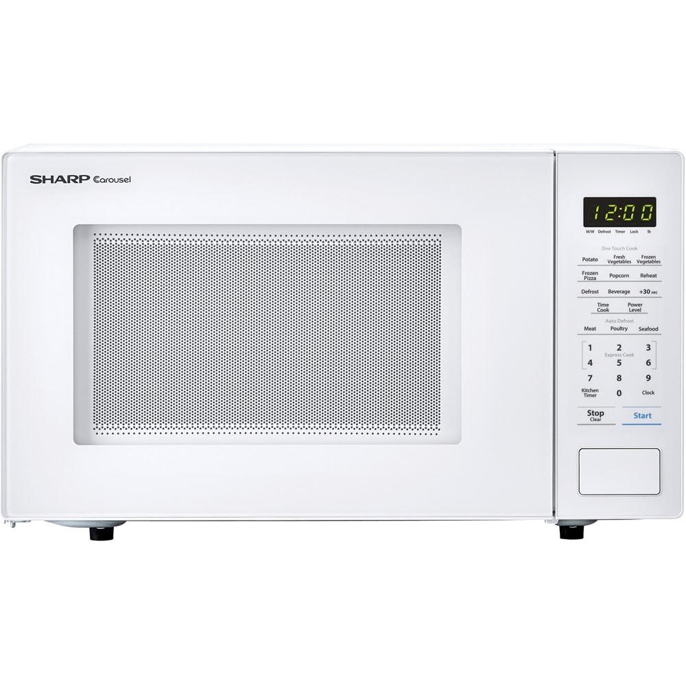 Sharp Carousel 1.1 Cu. Ft. 1000W Countertop Microwave Ove...