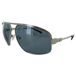 Revo Stargazer 1002 Unisex Chrome Frame Blue Lens Sunglasses