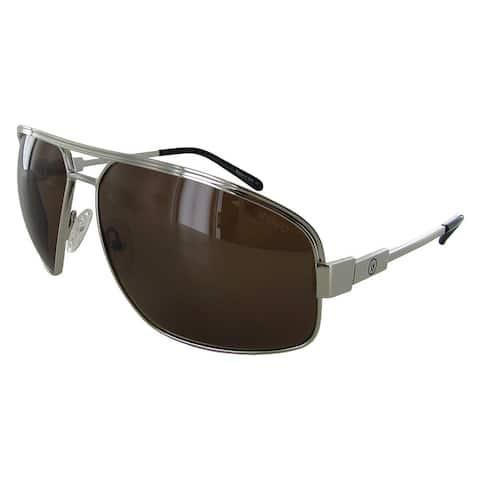 Revo Stargazer 1002 Unisex Chrome Frame Brown Lens Sunglasses