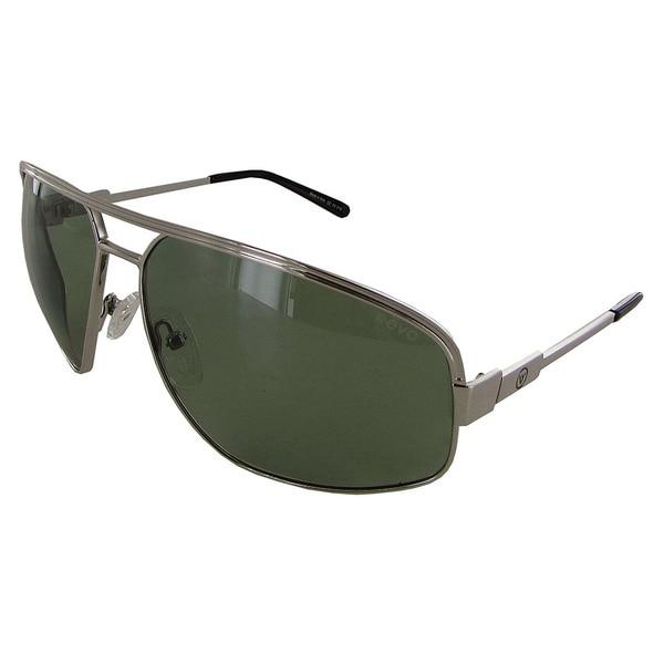 Revo Stargazer 1002 Unisex Chrome Frame Green Lens Sunglasses. Opens flyout.