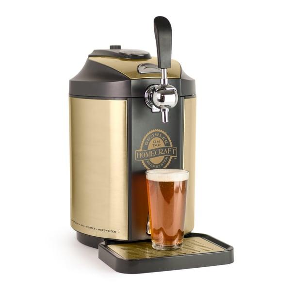 Nostalgia CBD5 Homecraft On Tap Beer Growler Cooling System