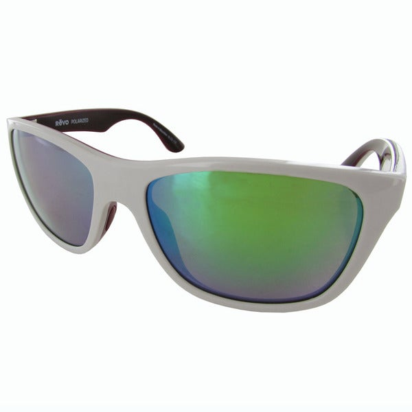 a418ac2820 Shop Revo Otis 1001 Unisex Grey Frame Green Water Lens Sunglasses ...