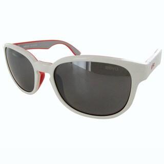 Revo Kash 1028 White-Coral-Grey Frame Graphite Lens Sunglasses (Option: White)