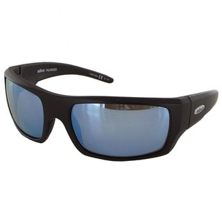 Revo Canyon 5008 Unisex Matte Black Frame Blue Water Lens Sunglasses
