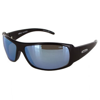 Revo Gunner 5010 Unisex Shiny Black Frame Blue Water Lens Sunglasses
