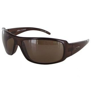 Revo Gunner 5010 Unisex Crystal Brown Frame Terra Lens Sunglasses