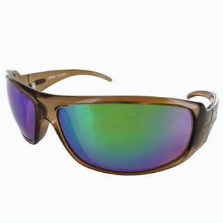 Revo Gunner 5010 Unisex Light Amber Frame Green Water Lens Sunglasses