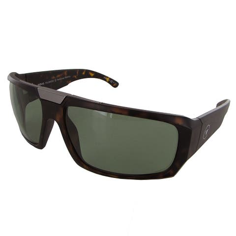 Revo Apollo 1004 Mens Matte Tortoise Frame Green Lens Sunglasses