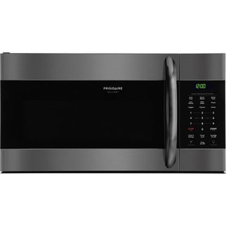 Frigidaire Gallery 1.7 Cu. Ft. Over-The-Range Microwave in Black Stainless Steel