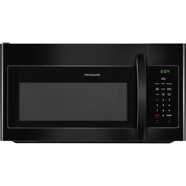 Frigidaire 1 6 Cu Ft Over The Range Microwave Black