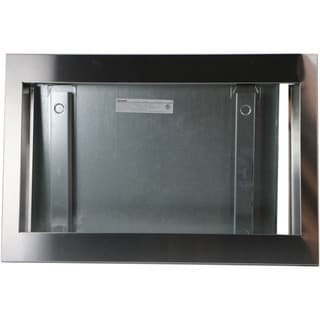 """Sharp 27"""" Trim Kit for Sharp SMC1585BS Microwave Oven in Stainless Steel"""
