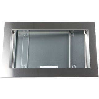 """Sharp 30"""" Trim Kit for Sharp SMC1842CS and SMC1843CM Microwave Ovens in Stainless Steel"""