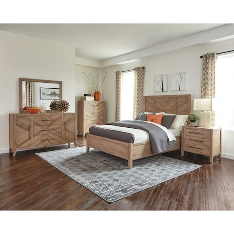 Buy Queen Size Mahogany, Transitional Bedroom Sets Online at ...