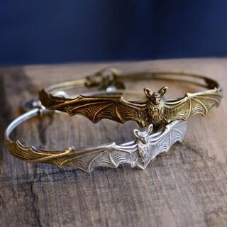 Elvira's Vampire Bat Bangle Bracelet