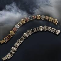 Elvira's Gothic Jewel Crystal Bracelet