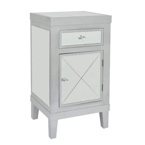 Three Hands Wood / Mirror Cabinet-1 Drawer 1 Door