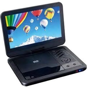 """Supersonic SC-1710DVD Portable DVD Player - 10.1"""" Display - 1024 x 60"""