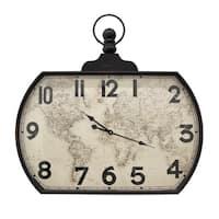 Three Hands Wall Clock