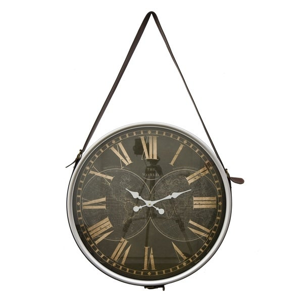 Three Hands Wall Hanging Clock