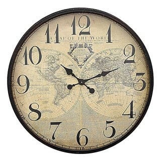 Three Hands Metal Wall Clock|https://ak1.ostkcdn.com/images/products/18148584/P24298909.jpg?impolicy=medium