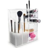 shop ikee design acrylic makeup brush holder cosmetic organizer free shipping on orders over. Black Bedroom Furniture Sets. Home Design Ideas