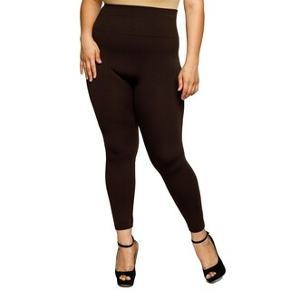 Xehar Womens Plus Size High Waist Skinny Fit Full Fashion Leggings