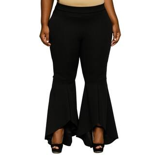 Xehar Womens Plus Size Sexy High Waisted Ruffled Bell Bottom Pants https://ak1.ostkcdn.com/images/products/18150509/P24300651.jpg?impolicy=medium