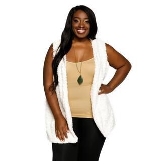 Xehar Womens Plus Size Winter Sleeveless Fuzzy Faux Fur Sweater Vest https://ak1.ostkcdn.com/images/products/18150637/P24300697.jpg?impolicy=medium