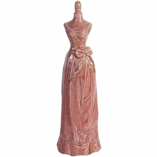 Princess Look Mannequin In Brick Red Finish