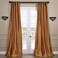 Exclusive Fabrics Signature Thai Silk 96-inch Curtain
