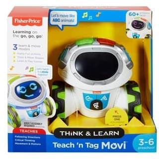 Fisher-Price Think & Learn Teach 'n Tag Movi