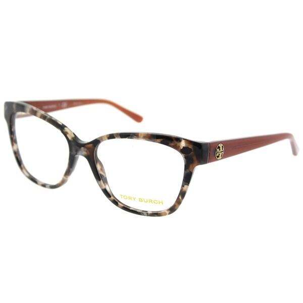 5972a16cb6f0 Tory Burch Square TY 2079 1682 Womens Pearl Brown Tort Frame Eyeglasses