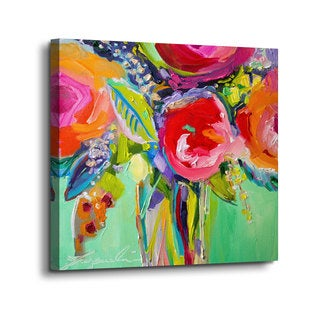 Jacqueline Brewer's Ode to Summer 1, Gallery Wrapped Canvas