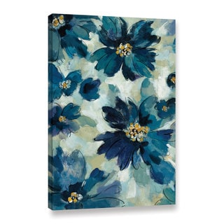 Silvia Vassileva's Inky Floral I, Gallery Wrapped Canvas - Multi