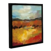 Silvia Vassileva's October Moment II, Gallery Wrapped Floater-framed Canvas