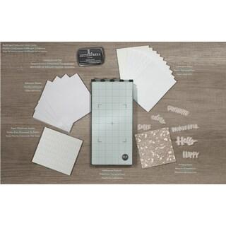 We R Memory Keepers Letterpress Starter Kit