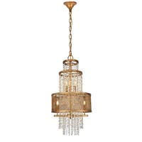 """Legacy  Collection Pendant D16 H31.5"""" Golden Iron Finish"""