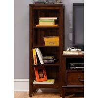 Chelsea Square Burnished Tobacco Student Bookcase