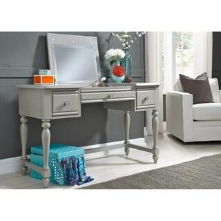 Summer House Dove Grey Vanity Desk