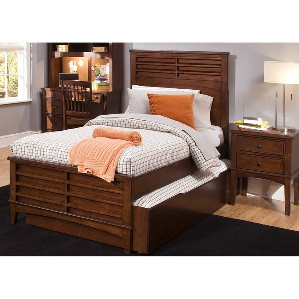 Chelsea Square Burnished Tobacco Twin Trundle Unit