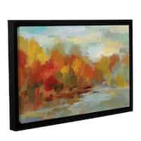 Silvia Vassileva's October Dreamscape Crop, Gallery Wrapped Floater-framed Canvas