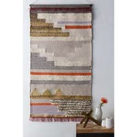 "Aalis Cream 36"" x 60"" Traditional Decorative Tapestry"