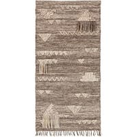 "Olympos Ivory 30"" x 60"" Traditional Decorative Tapestry"